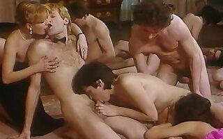 Crazy Group Sex, scène porno vintage
