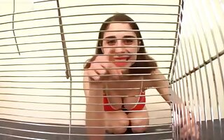 Playful Giantess Violetta (If you add me better have good videos)