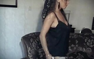 Fabulous homemade Striptease, Big Natural Tits adult clip