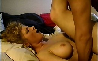 Smoking hot blonde seduces her tennis partner into a naughty session