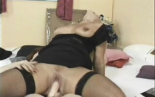 Two naughty mature ladies pleasing each other's holes with sex toys