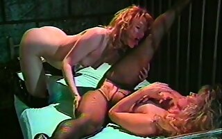 A naughty prisoner teases the sexy lady guard into some pussy play