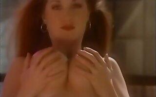 Heavy And Busty Country Line Dancing - Tara Monroe And Tami Monroe